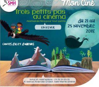 Portail culturel - FESTIVAL  Trois petits pas au cinéma du 21 au 25 nov, dès 2 ans !