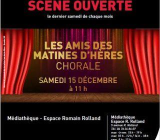 Portail culturel - SCÈNE OUVERTE - LES AMIS DES MATINES D'HÈRES / CHORALE