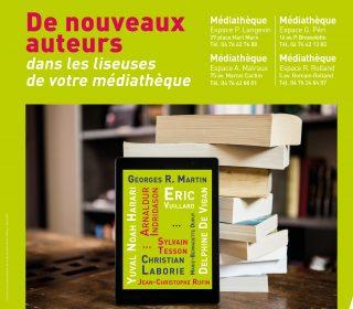 Portail culturel - MÉDIATHÈQUES : De nouveaux auteurs dans les liseuses !
