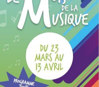 Portail culturel - MOIS DE LA MUSIQUE du 23 mars au 13 avril - Médiathèque