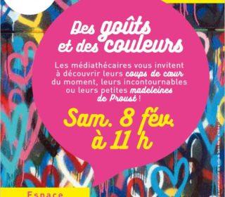 Portail culturel - Des goûts et des couleurs - Médiathèque P. Langevin